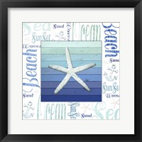 Framed Gypsy Sea Blue 2