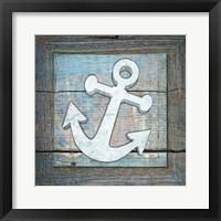 Framed Gypsy Sea Blue Framed 1