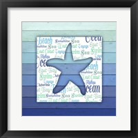 Framed Gypsy Sea Blue V4 4