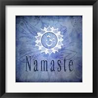 Framed Chakras Yoga Namaste V2