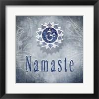 Framed Chakras Yoga Namaste V3