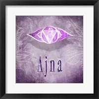Framed Chakras Yoga Ajna V4