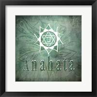 Framed Chakras Yoga Anahata V1