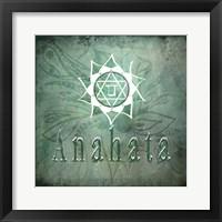 Framed Chakras Yoga Anahata V2