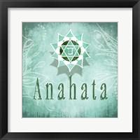 Framed Chakras Yoga Anahata V3
