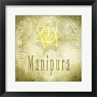 Framed Chakras Yoga Manipura V3