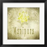 Framed Chakras Yoga Manipura V4