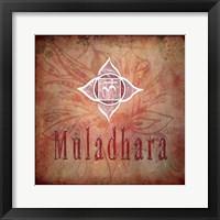 Framed Chakras Yoga Muladhara V2