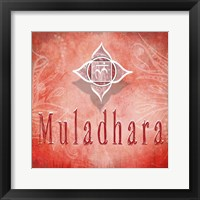 Framed Chakras Yoga Muladhara V3