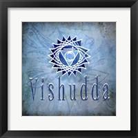 Framed Chakras Yoga Vishudda V1