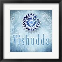 Framed Chakras Yoga Vishudda V3