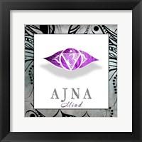 Framed Chakras Yoga Framed AJNA V3