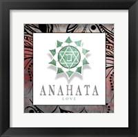 Framed Chakras Yoga Framed Anahata V2