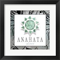 Framed Chakras Yoga Framed Anahata V3