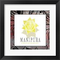 Framed Chakras Yoga Framed Manipura V2