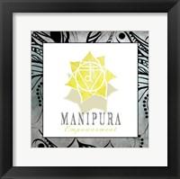 Framed Chakras Yoga Framed Manipura V3
