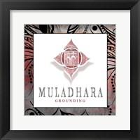 Framed Chakras Yoga Framed Muladhara V2