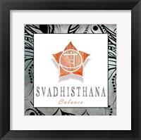 Framed Chakras Yoga Framed Svadhisthana V3