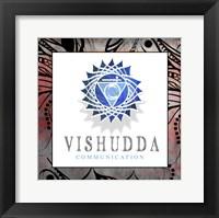 Framed Chakras Yoga Framed Vishudda V2