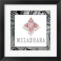 Framed Muladhara Symbol 4