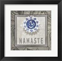 Framed Namaste Symbol 7-1
