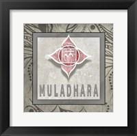 Framed Muladhara Symbol 7