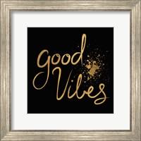 Framed Good Vibes