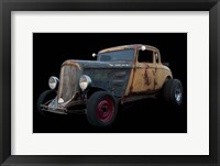 Framed 1934 Plymouth Roadster