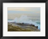 Framed La Jolla Beach