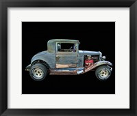 Framed Old Rusted Coupe
