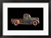Framed Old Rusted Pickup