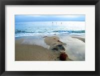 Framed Zuma Beach, Ca