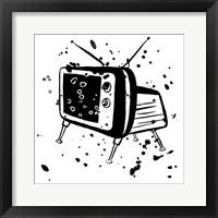 Framed Television Static