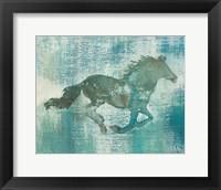 Framed Mustang Study