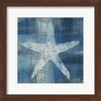 Framed Batik Seas II
