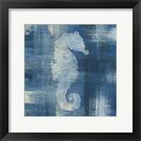 Framed Batik Seas I