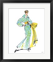 Colorful Fashion I Framed Print