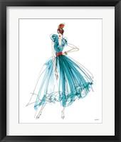 Framed Colorful Fashion II