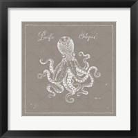 Framed Underwater Life X Greige