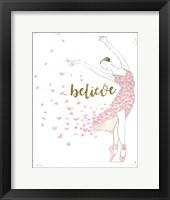 Dream Dancer I Framed Print