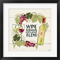 Framed Wine and Friends V