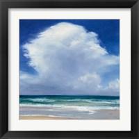 Framed Beach Clouds II