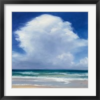 Framed Beach Clouds II