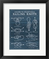 Framed Vintage Sailing Knots I