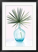 Framed Statement Palms I