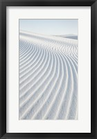Framed White Sands I no Border