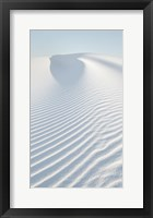 Framed White Sands II no Border