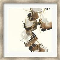 Framed Gold Squares II