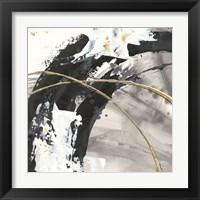 Framed Gilded Arcs II