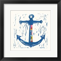 Framed Nautical Collage III